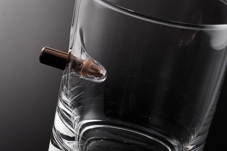 BenShot Bulletproof Rocks Glass