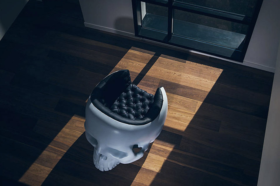 Gregory Besson Skull Armchair