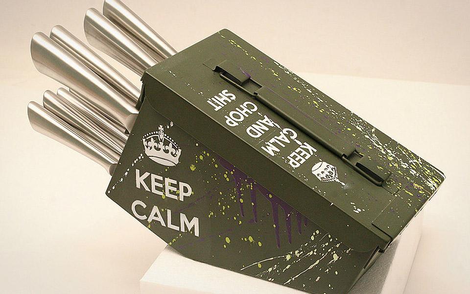 Delta Echo Knife Block