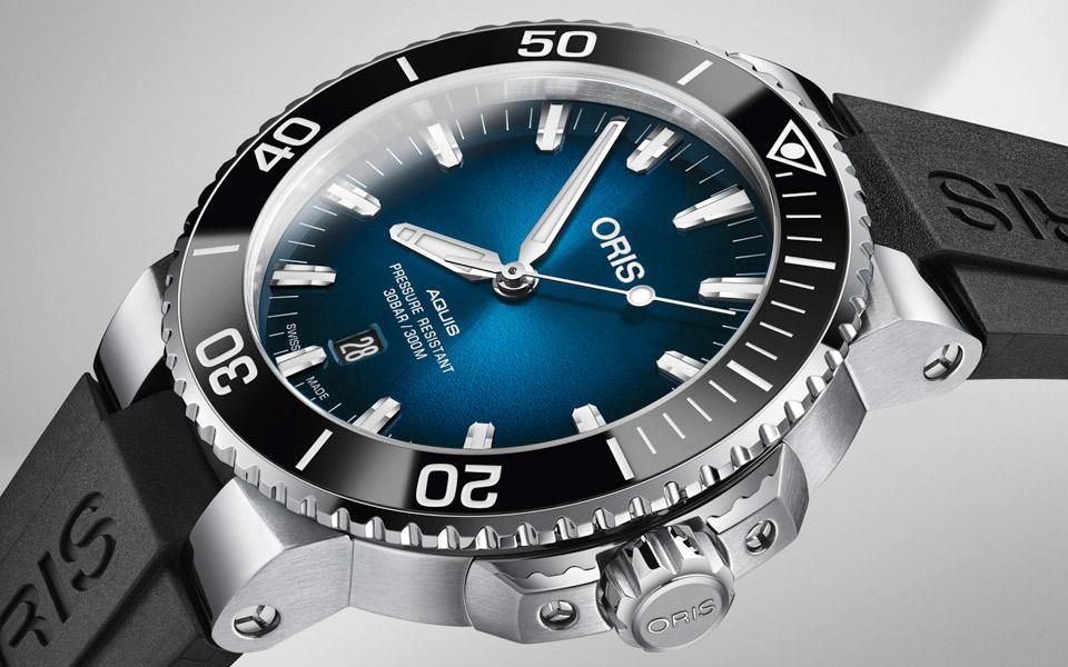 Oris hylder vandet med deres to nye Limited Edition dykkerure
