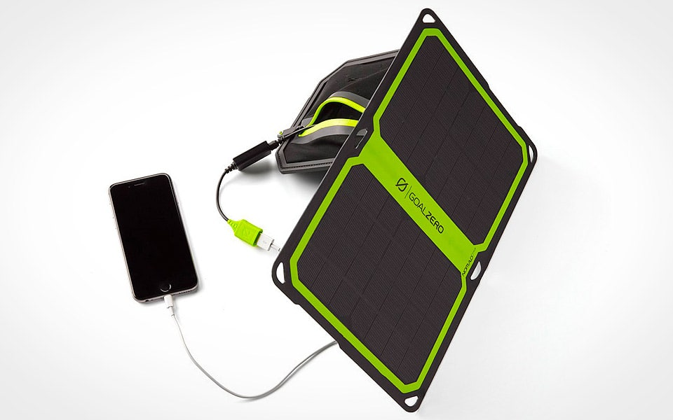 Goal Zero Nomad 7 Plus solcelle oplader
