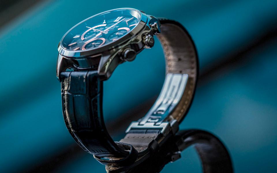 Casios lækre Edifice-ure er udviklet i samarbejde med professionelle Formel 1 kørere
