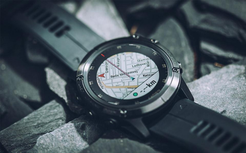 Garmin fēnix 5X Plus Sapphire er det ultimative ur til udendørsmanden