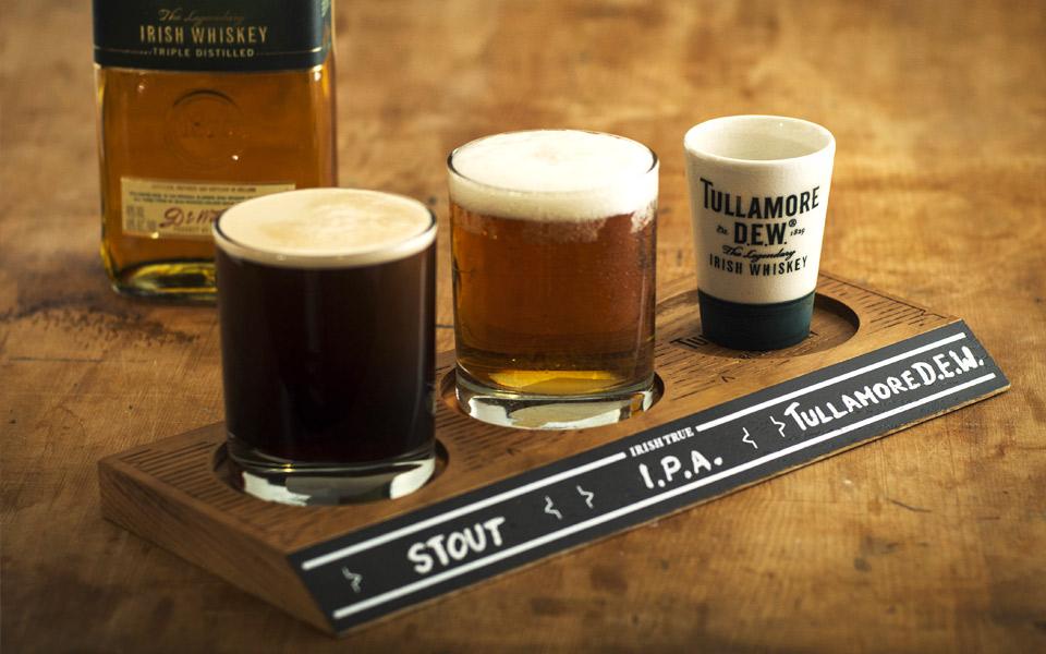 Tullamore D.E.W. & a Brew kombinerer Whiskey og Øl