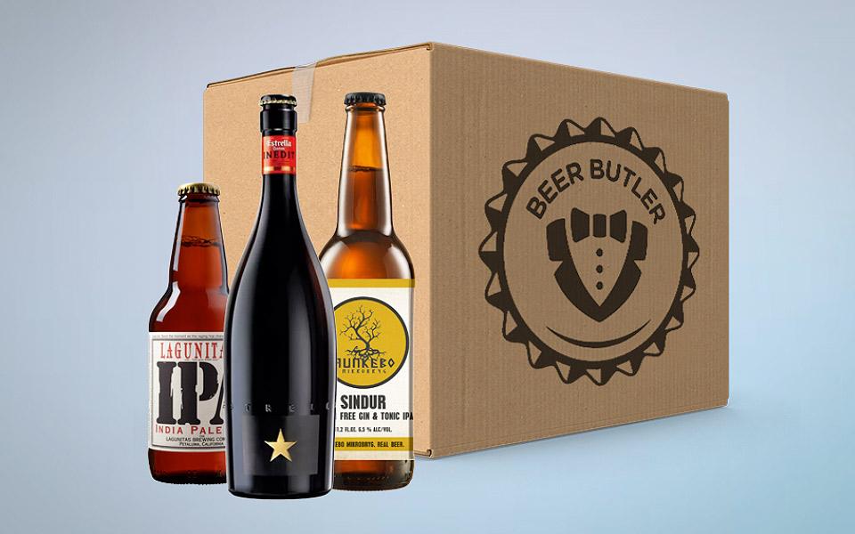 BeerButler leverer en kasse med nye øl fra hele verden direkte til din dør hver uge