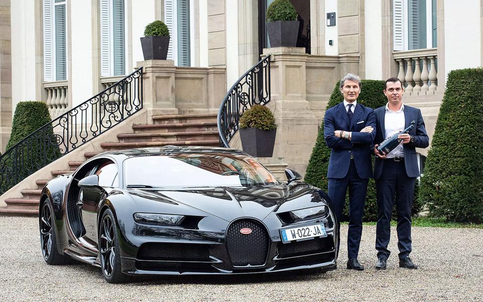 Bugattis nye Champagne Carbon matcher din hyperbil