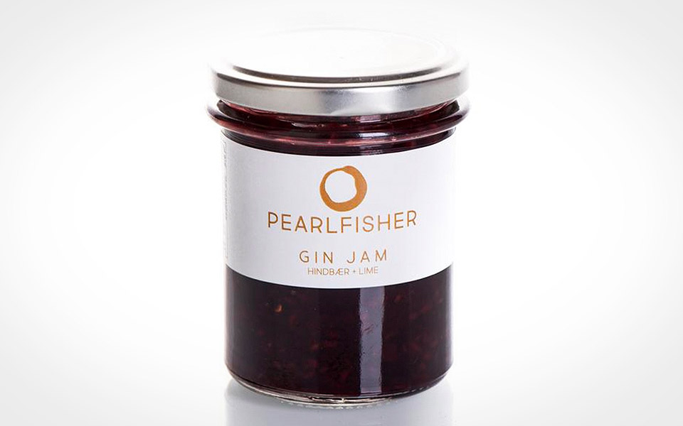 Pearlfisher Gin jam