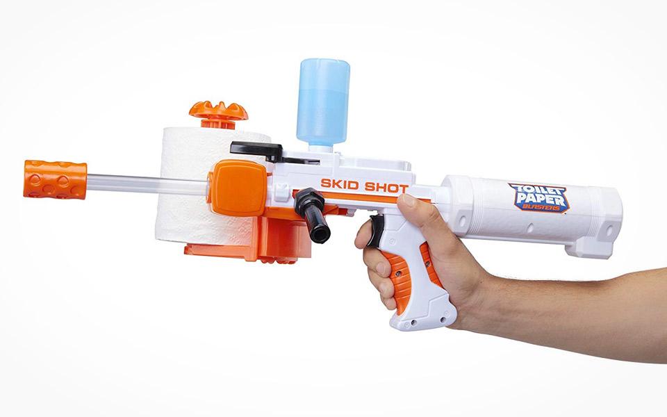 Toiletpapir Blaster