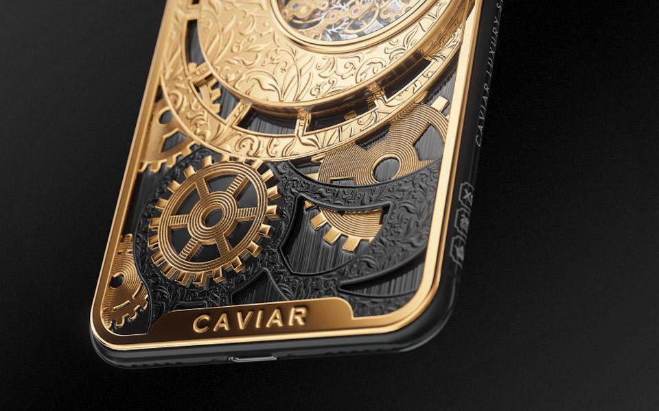 Caviar Grand Complications Skeleton iPhone XS