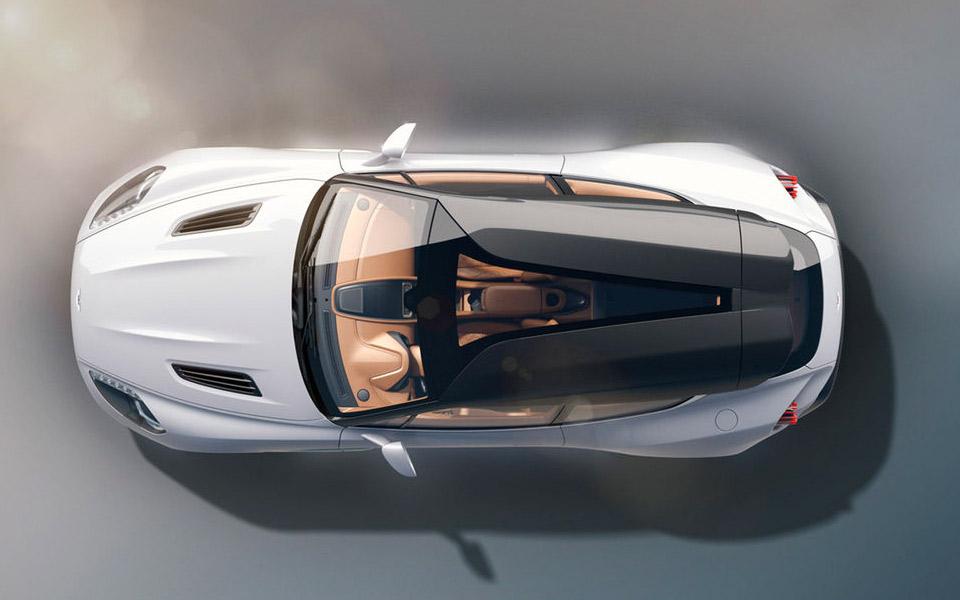 De nye billeder af Aston Martin Vanquish Zagato Shooting Brake afslører en sprød bil