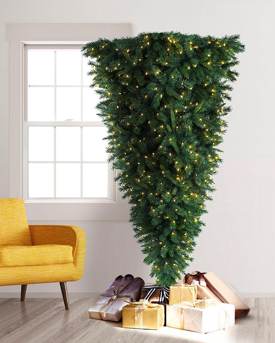 Det her Juletræ vender Julen på hovedet