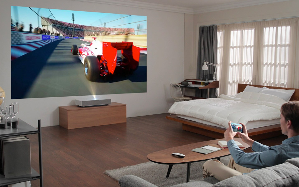 LG CineBeam Laser 4K projektor