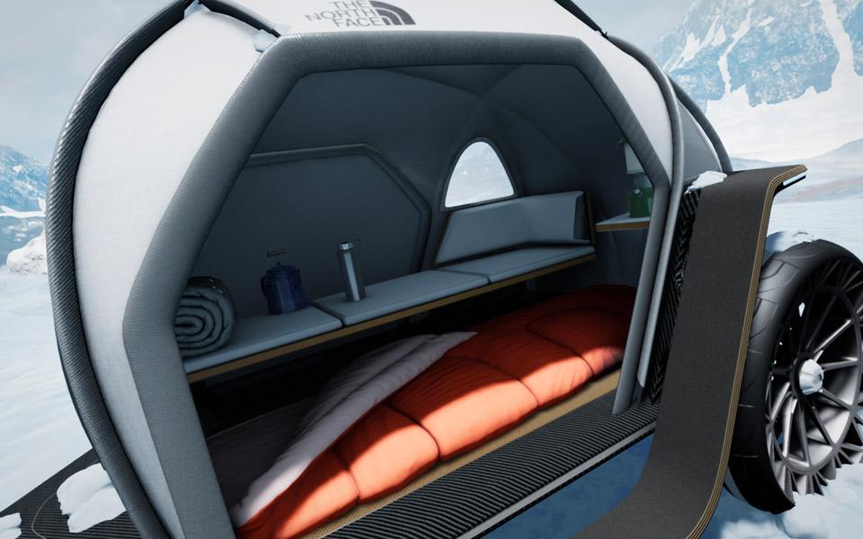 BMW og The North Face samarbejder om en camper til skiferien