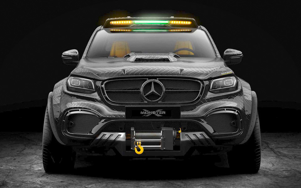 Carlex Design Mercedes-Benz X-Klasse 6x6
