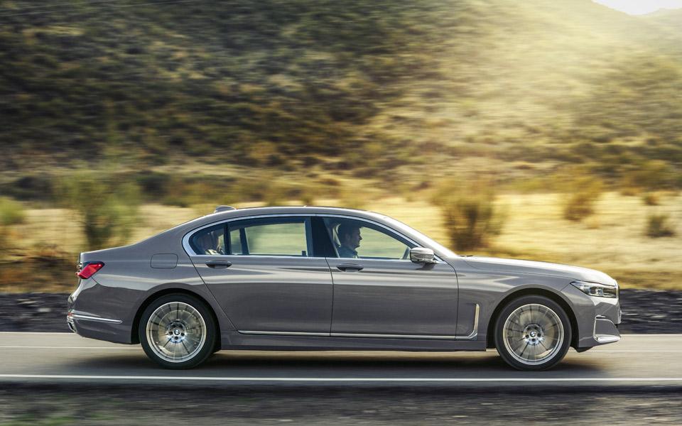 Den nye BMW 7-Serie har et kæmpe grin