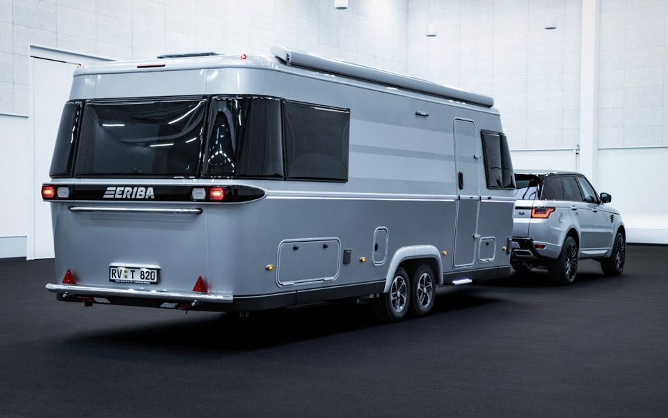 Eriba Touring 820 er en smart campingvogn