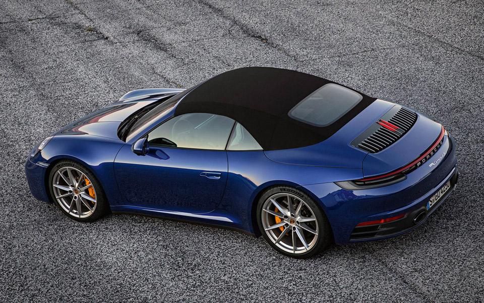 Porsche afslører den nye 911 Cabriolet