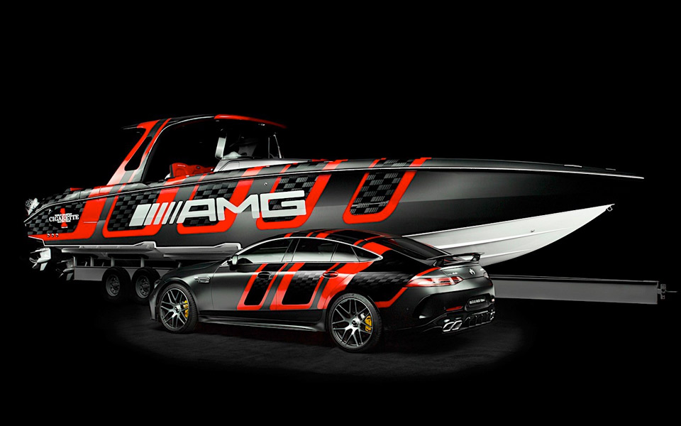 Cigarette Racing AMG Carbon Edition