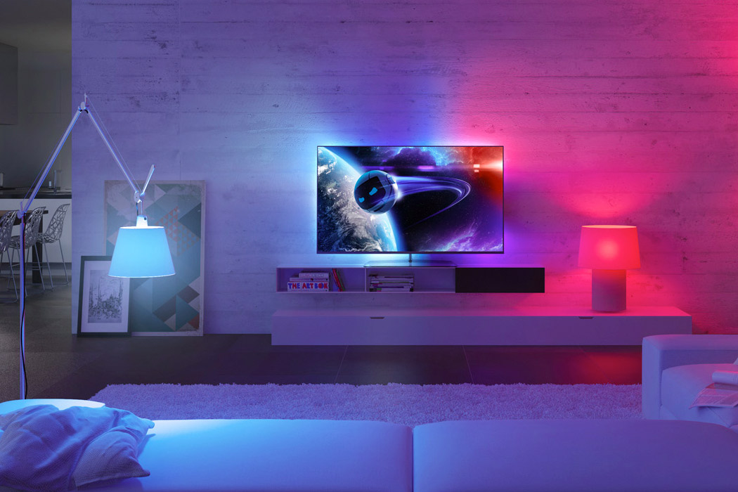 Philips Ambilight Hue Mandesager
