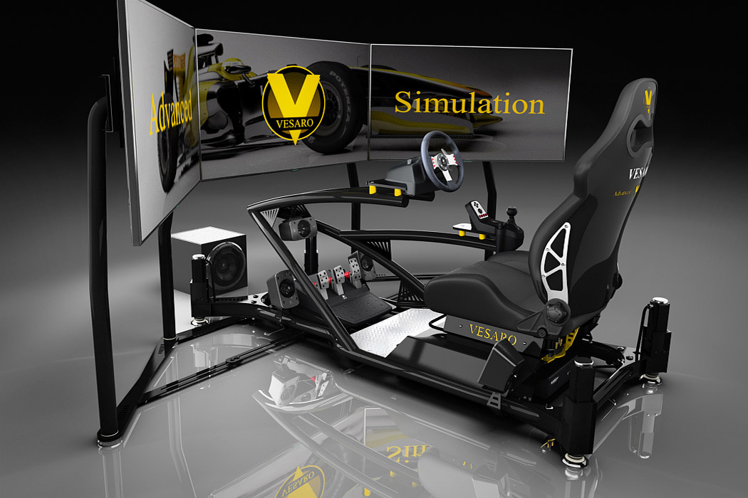 how to build a racing simulator