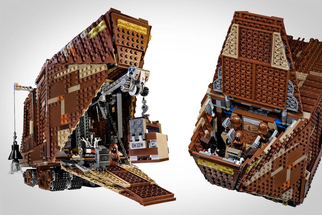 LegoSandcrawler