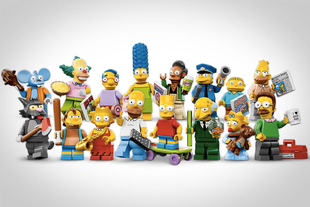LegoSimpsonsMinifigurer