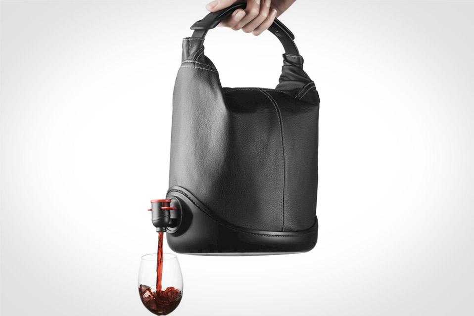 Bag In Box Som Handväska : Menu baggy winecoat mandesager