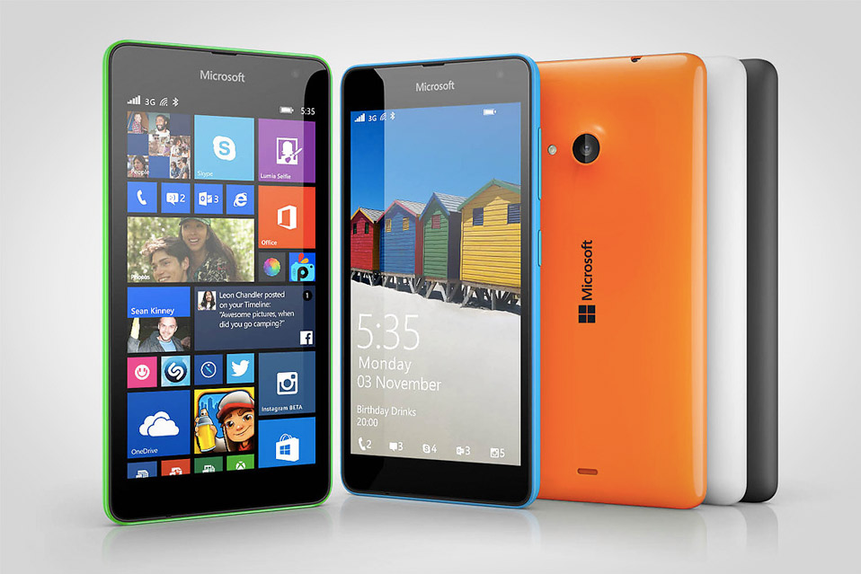 the initial how to use microsoft lumia 535 later