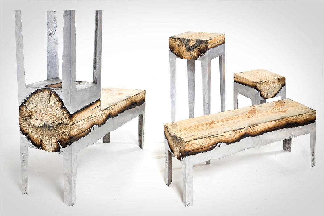 AluminiumAndWoodFurniture