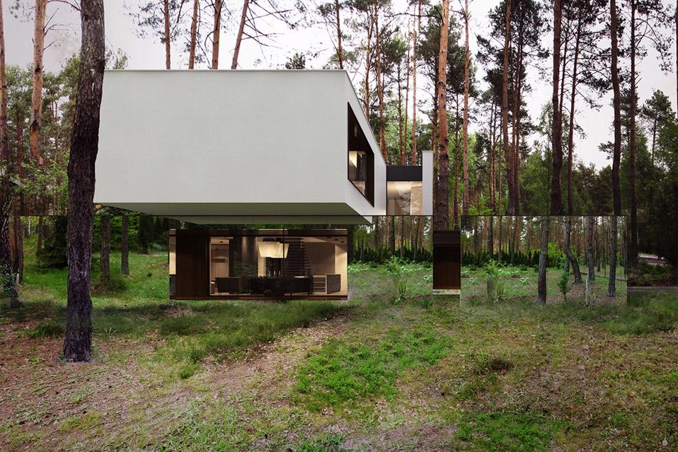 Reform architekt izabelin house 2 mandesager