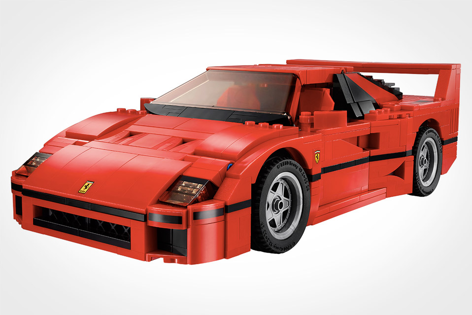 lego ferrari f40 mandesager. Black Bedroom Furniture Sets. Home Design Ideas