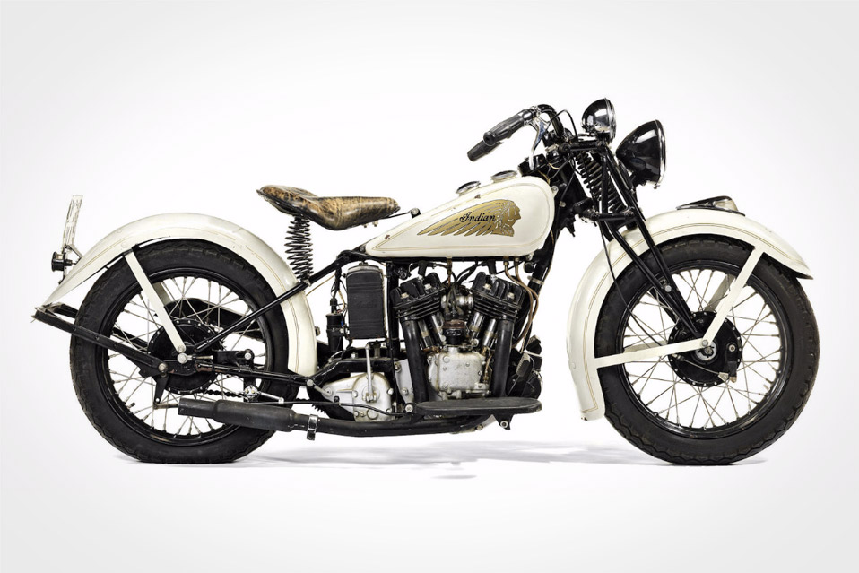 Steve McQueen's 1934 Indian Sport Scout Is for Sale photo