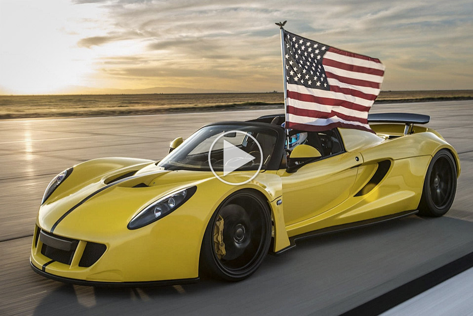 hennessey venom gt spyder er verdens hurtigste cabriolet mandesager. Black Bedroom Furniture Sets. Home Design Ideas