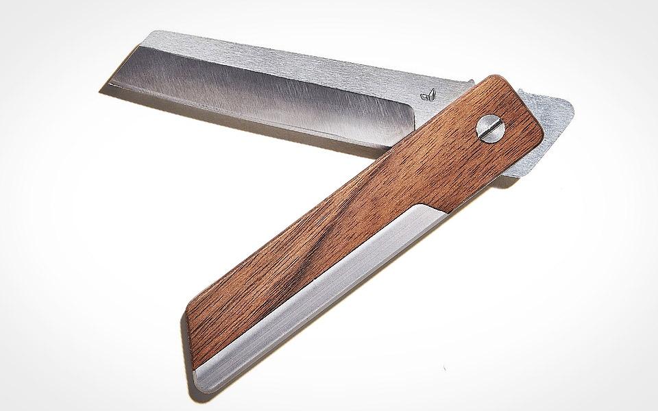 Grovemade Walnut Pocket Knife