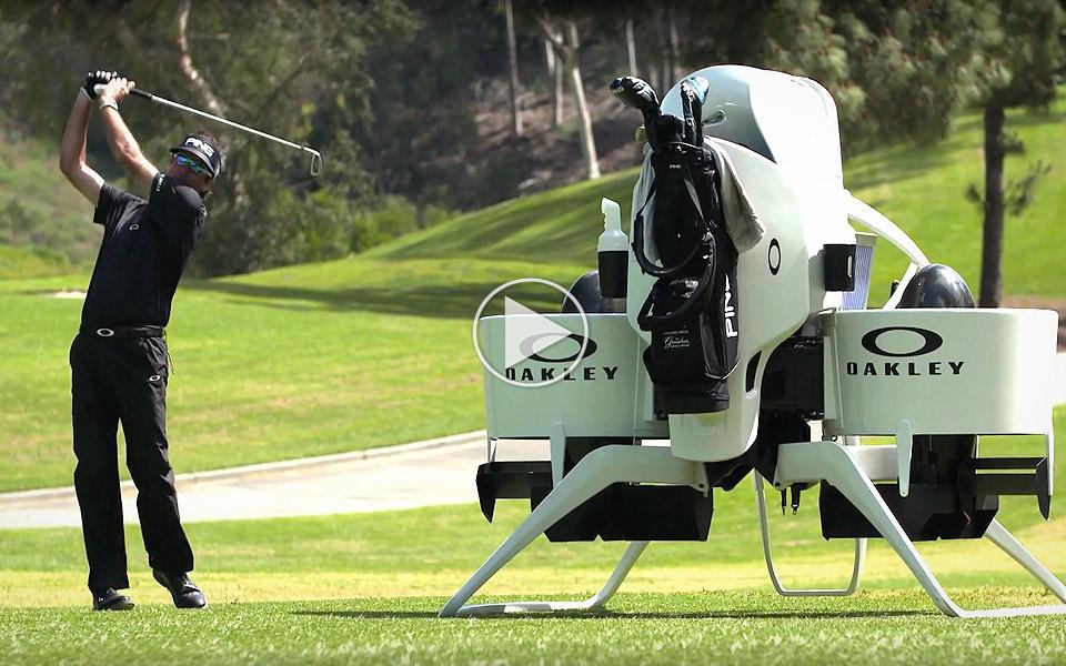 En jetpack er Bubba Watsons hemmelige våben på golfbanen