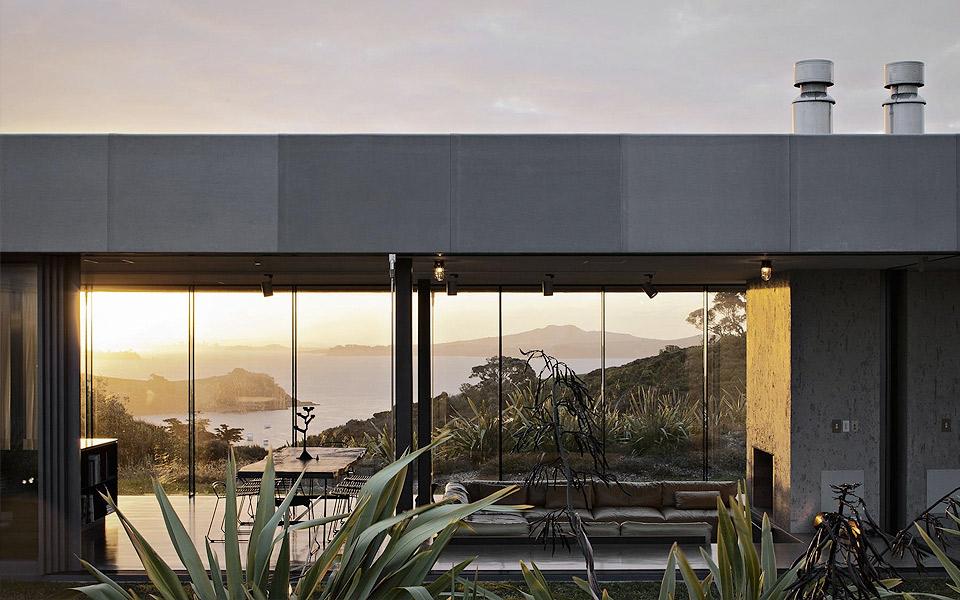 Fearon Hay Architects Island Retreat