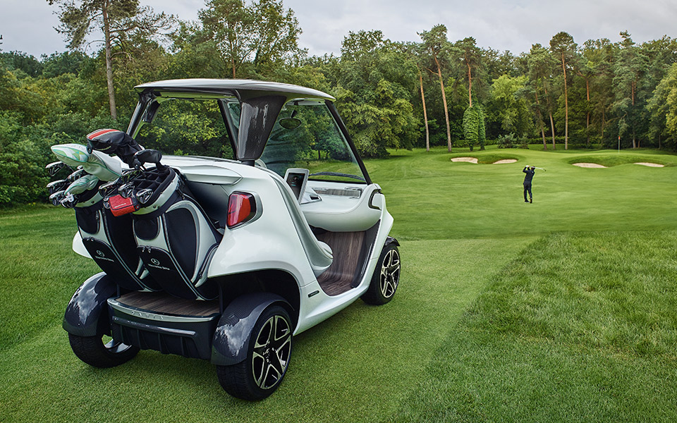 Mercedes Benz Style Edition Garia Golf Car