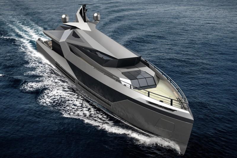 Red Yacht Design Stella Superyacht