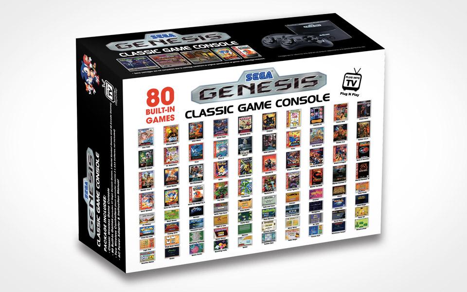 Sega genesis classic game console mandesager - Sega genesis classic game console games ...