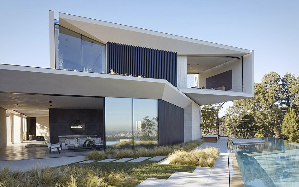Michael Bays hus i Los Angeles er et slot til verdensmanden