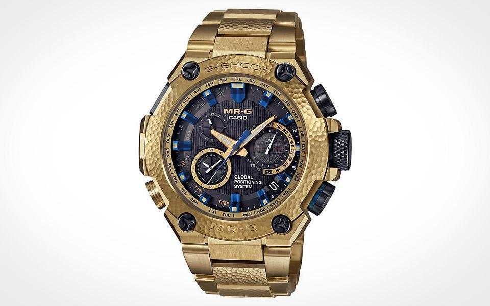G-Shock MR-G Gold Hammer Tone