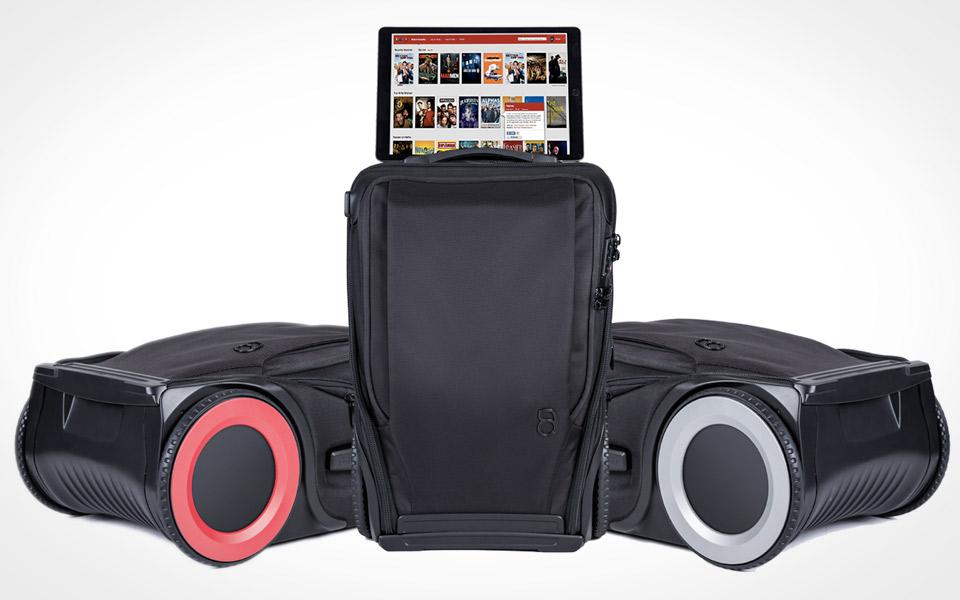 kuffert på hjul