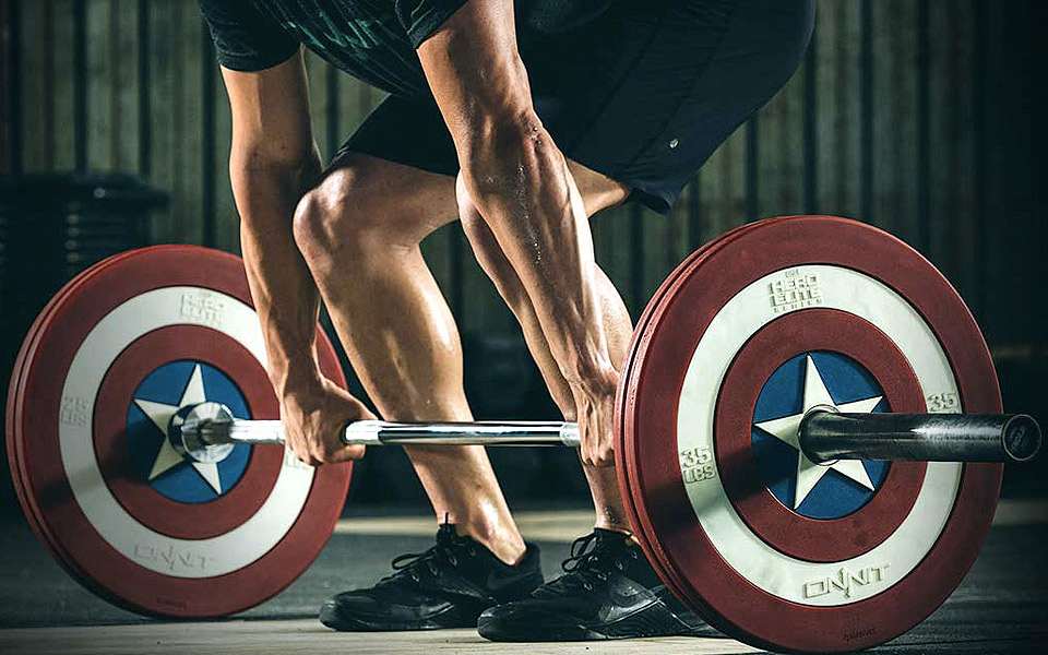 Onnit-X-Marvel-Captain-America-Shield-Barbell-Plates_1