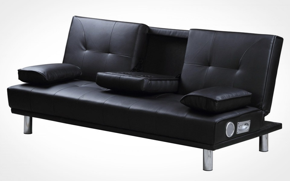 buckle up futon sofa mandesager. Black Bedroom Furniture Sets. Home Design Ideas