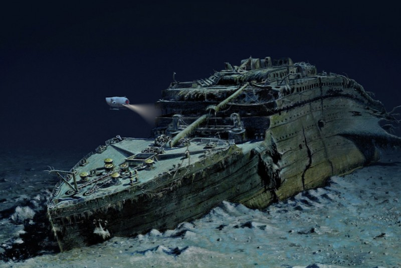Nu kan du tage på dykkertur til Titanic