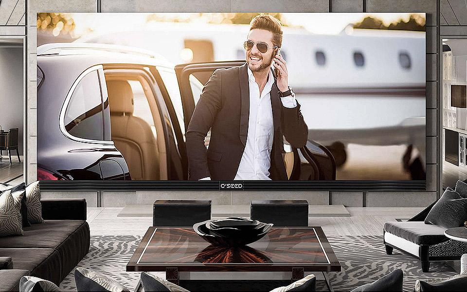 C SEED Blade 283 er verdens største 4K-fladskærm