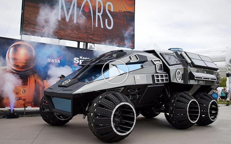 NASA Mars Rover Concept Vehicle - MANDESAGER