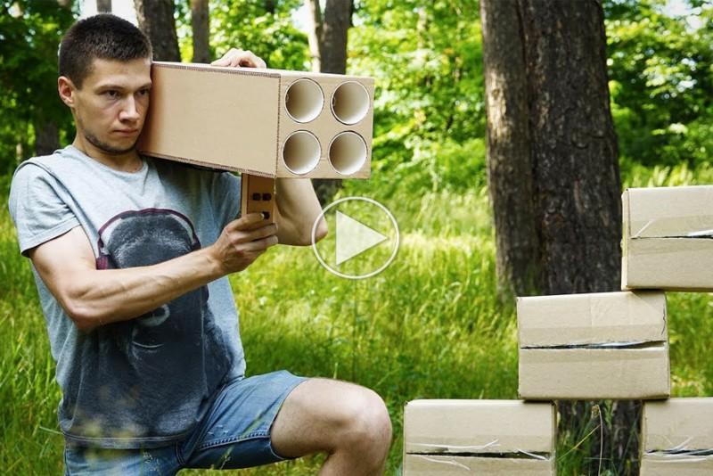 Sådan bygger du en Cola-bazooka