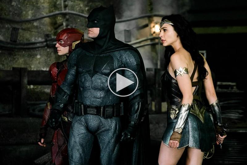 Comic Con traileren til Justice League er 4 minutter super-smadder