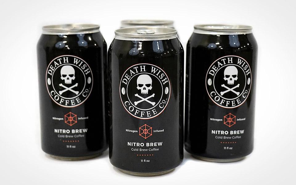 Death Wish Nitro Brew - verdens stærkeste iskaffe